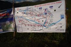 Map of Maa Nanda Devi rajjat yatra