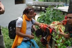 Rjjaat yatra ka pad pradarshak (chaushingya khadu)